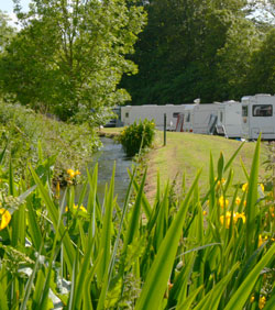 Lake District caravan park