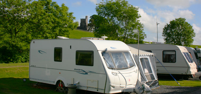 Lake District Caravan Site Near Kendal Waters Edge