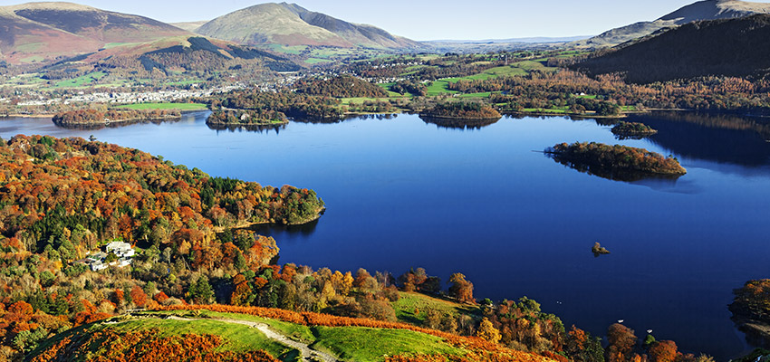 Photo of Keswick, Cumbria, in the Lake District